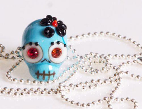 skull tyrkis