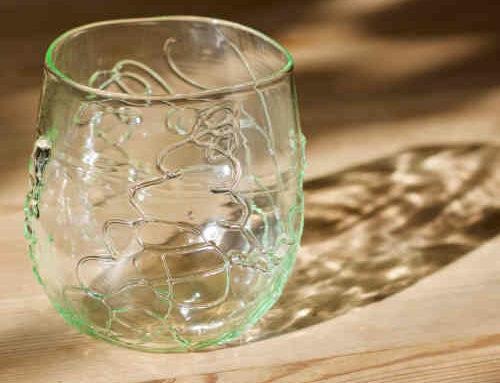 Tang glas grøn