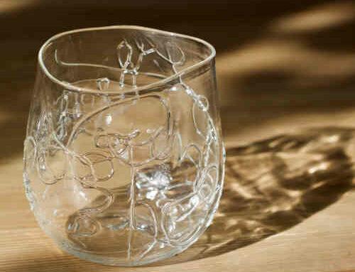 Tang glas klar